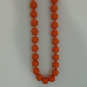 Jewelry - Chew bead  silicone necklace